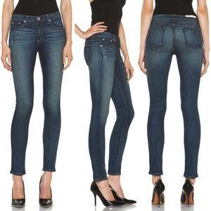 Rag & Bone Skinny Jeans in Kensington Wash